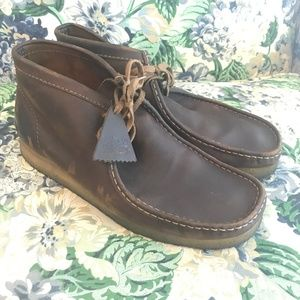 Clarks Originals Wallabee Sz 13 Boot Leather Shoes